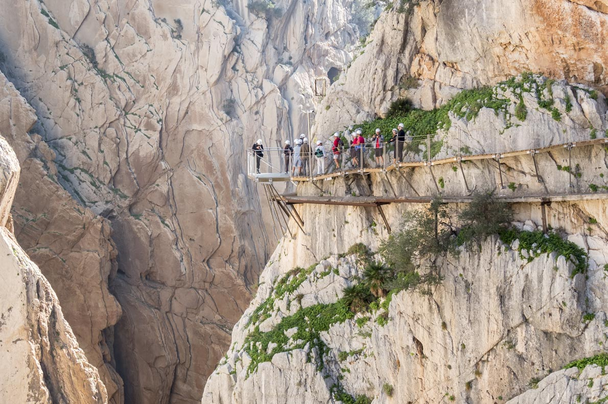 Best things to do in Spain - Caminito del rey copyright  Alvaro Trabazo Rivas - European Best Destinations