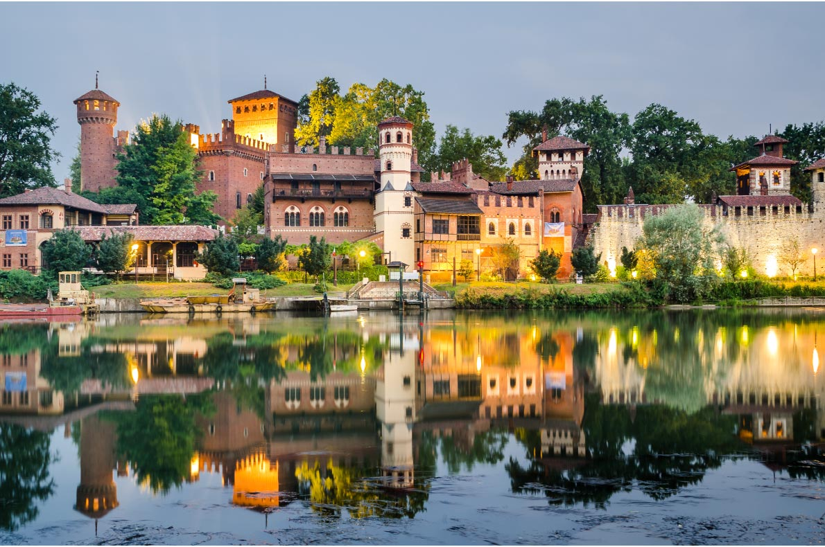 Best castles in Italy - Borgo Castle in Turin Copyright  Marco Saracco - European Best Destinations