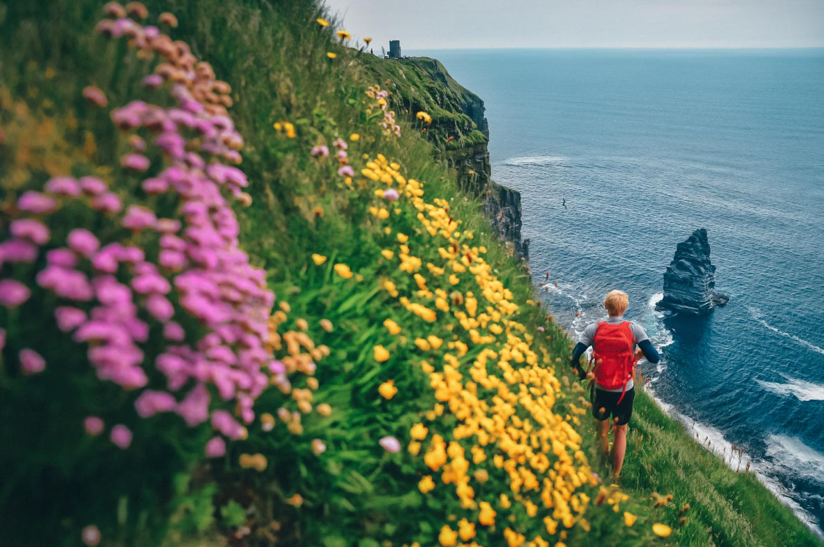 Best hidden gems in Ireland - The cliffs of Moher copyright Klovop58 -  European Best Destinations