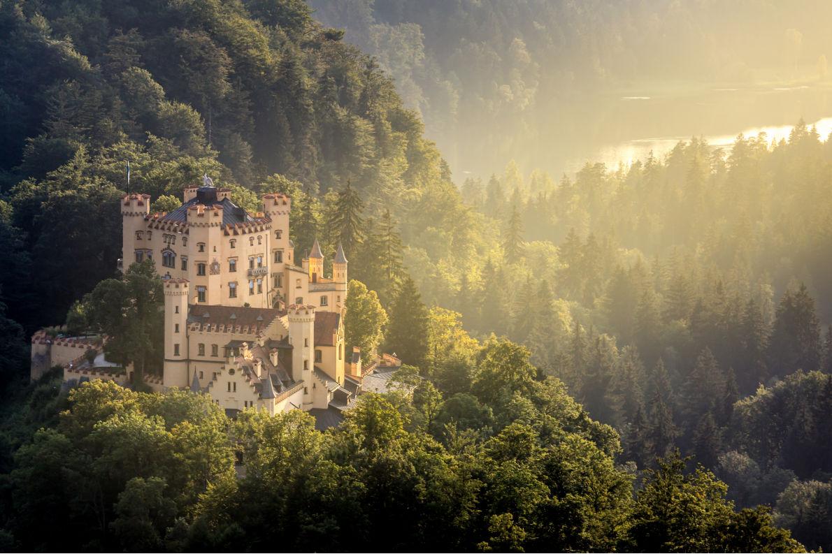Best castles in Germany - Hohenschwangau Castle  - Copyright Vichie81- European Best Destinations