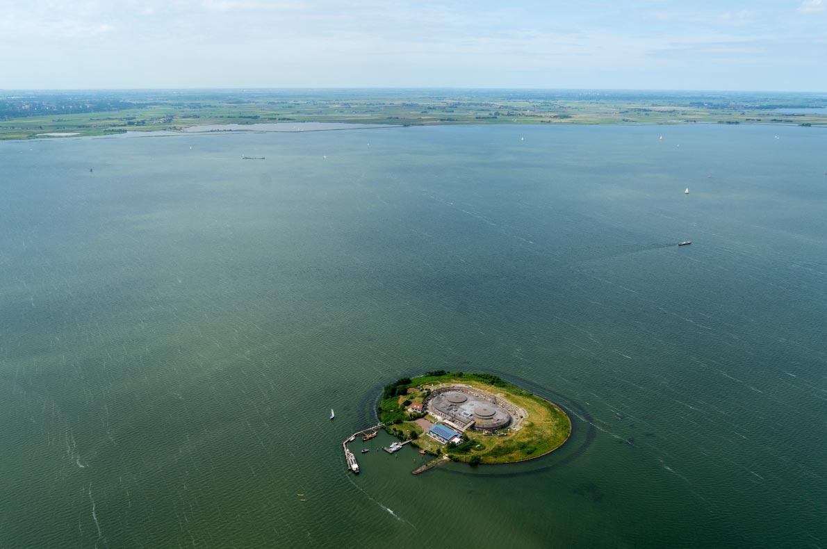 Best hidden gems in The Netherlands - Pampus Island - Copyright Aerovista Luchtfotografie - European Best Destinations