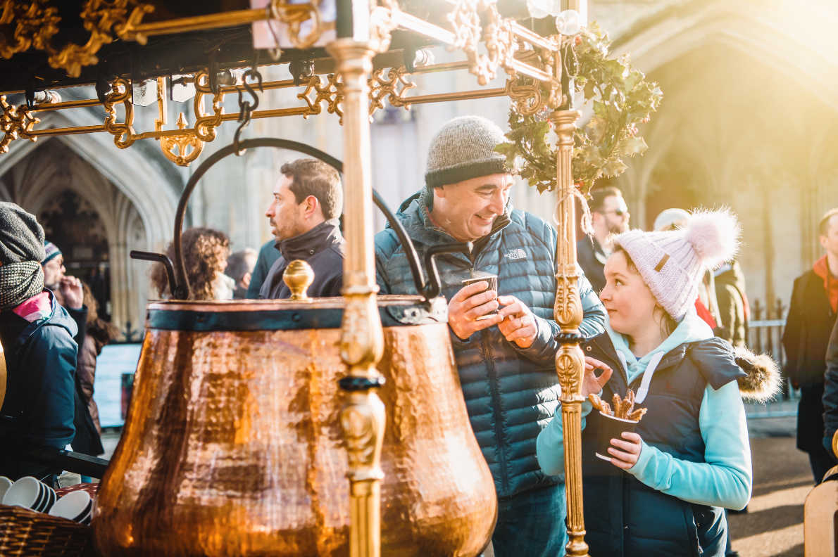 Best Christmas Markets in United Kingdom - Winchester Cathedral's Christmas Market Copyright Winchester Cathedral Marketing  - European Best Destinations
