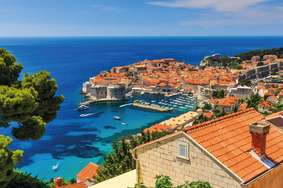 Best fortified destinations in Europe - Copyright   Dubrovnik Croatia. A panoramic view of the walled city. Copyright Sorin Colac  - European Best Destinations