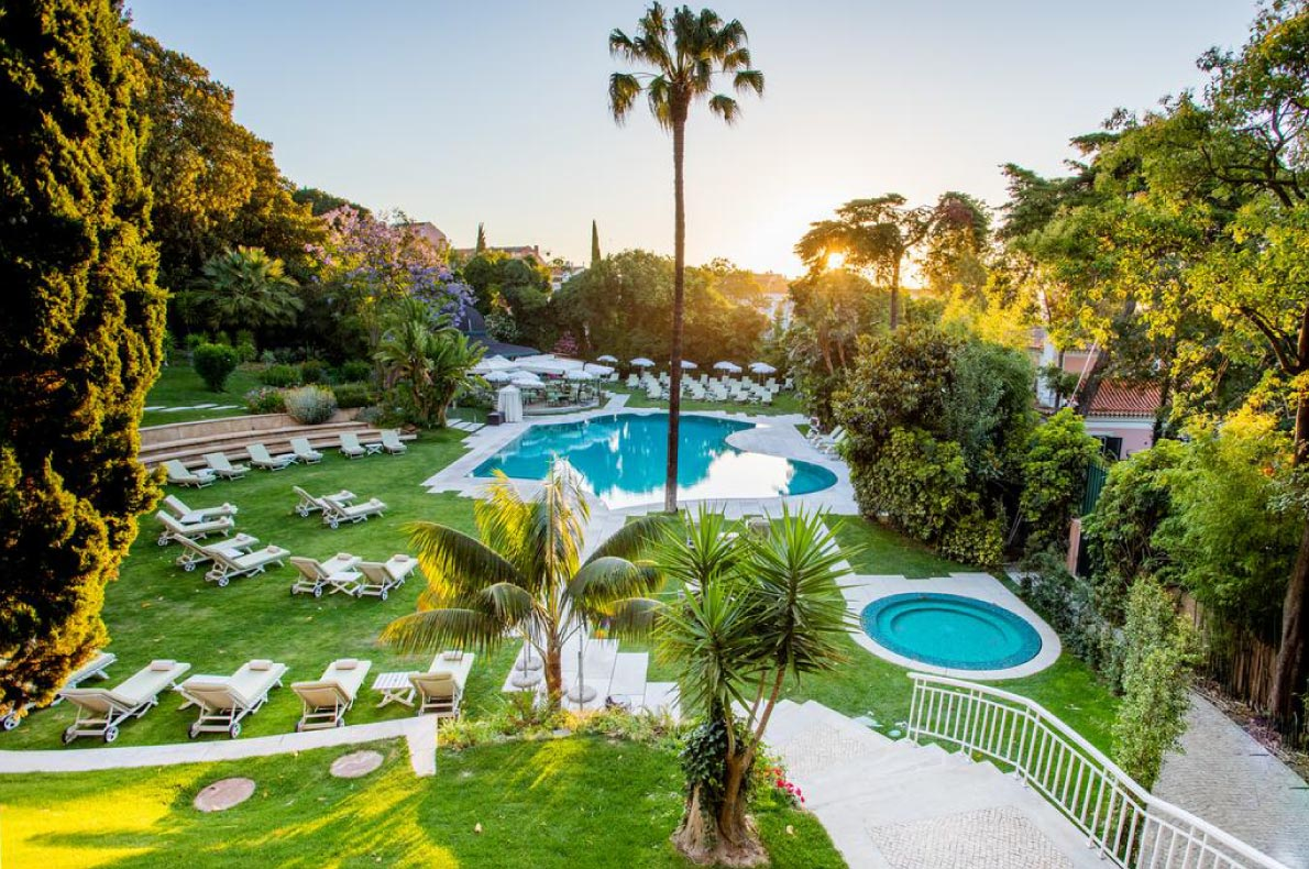 Best wedding venues in Europe - Olissippo Lapa Palace  - European Best Destinations