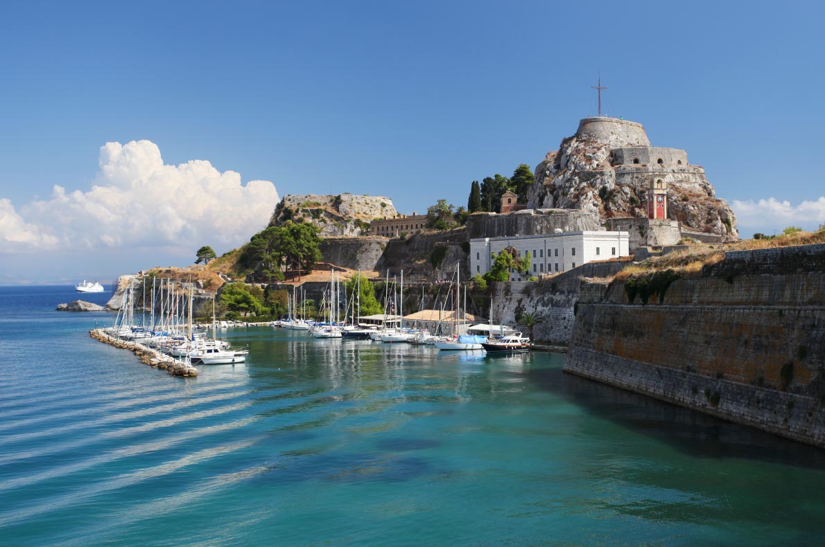 Best castles in Greece - Corfu Castle copyright  Dan Breckwoldt - European Best Destinations