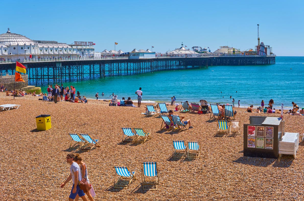 Leaving the USA - Best destinations to live in Europe for american expats - Brighton copyright Michaelasbest