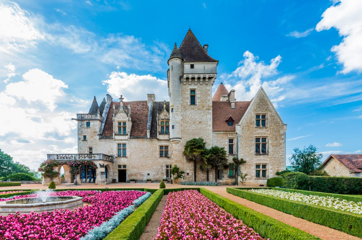 Best Castles in France - Chateau des Milandes owned by Josephine Baker Copyright OSTILL is Franck Camhi   - European Best Destinations