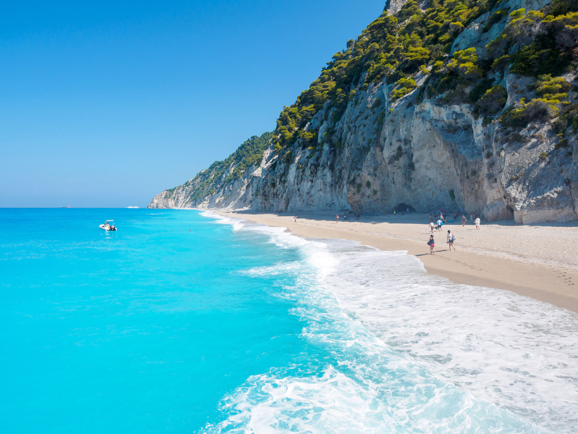 Best beaches in Greece - Egremni beach - Lefkada - Copyright Netfalls - Remy Musser   - European Best Destinations