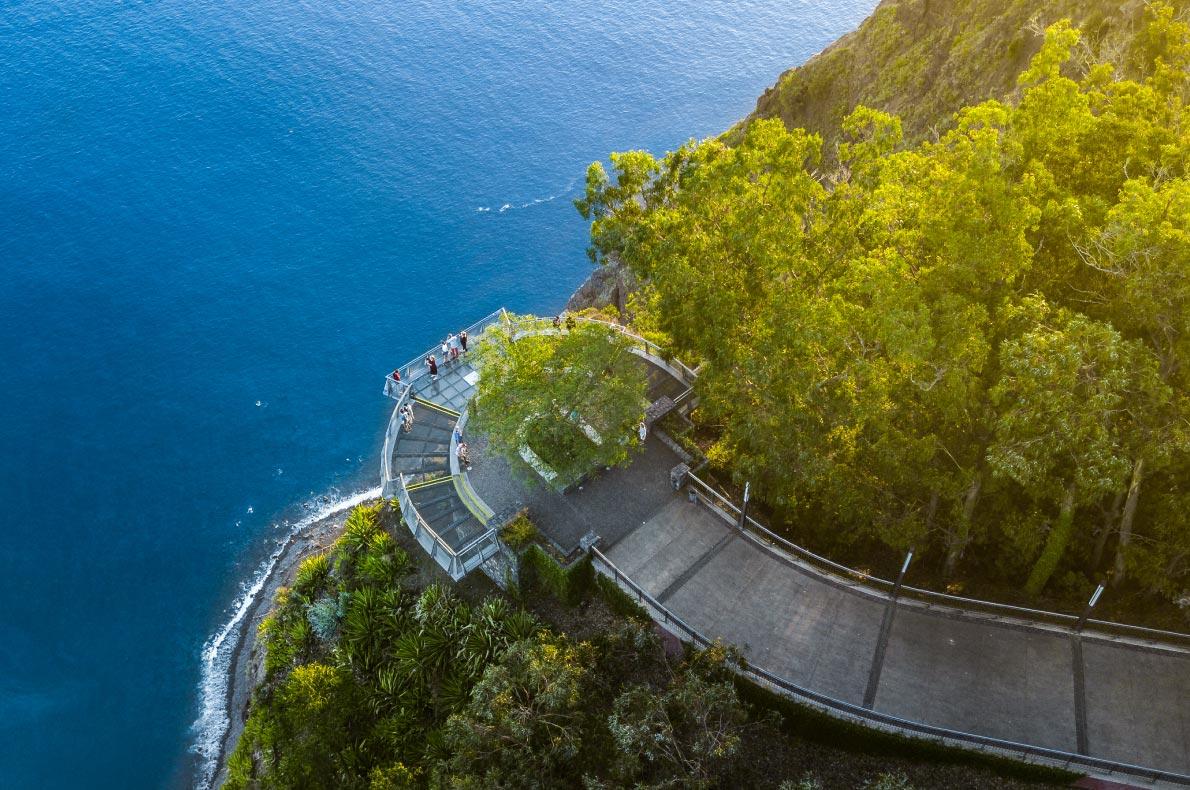 Best Instagrammable places in Madeira -  Madeira - Cabo Girao - Copyright Cicero Castro - Funchal copyright Cicero Castro
