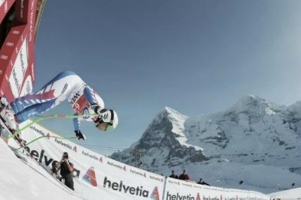 Lauberhorn descent Jungfrau
