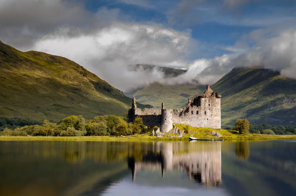 Best castles in Scotland - Kilchurne Castle copyright  Swen Stroop  - European Best Destinations