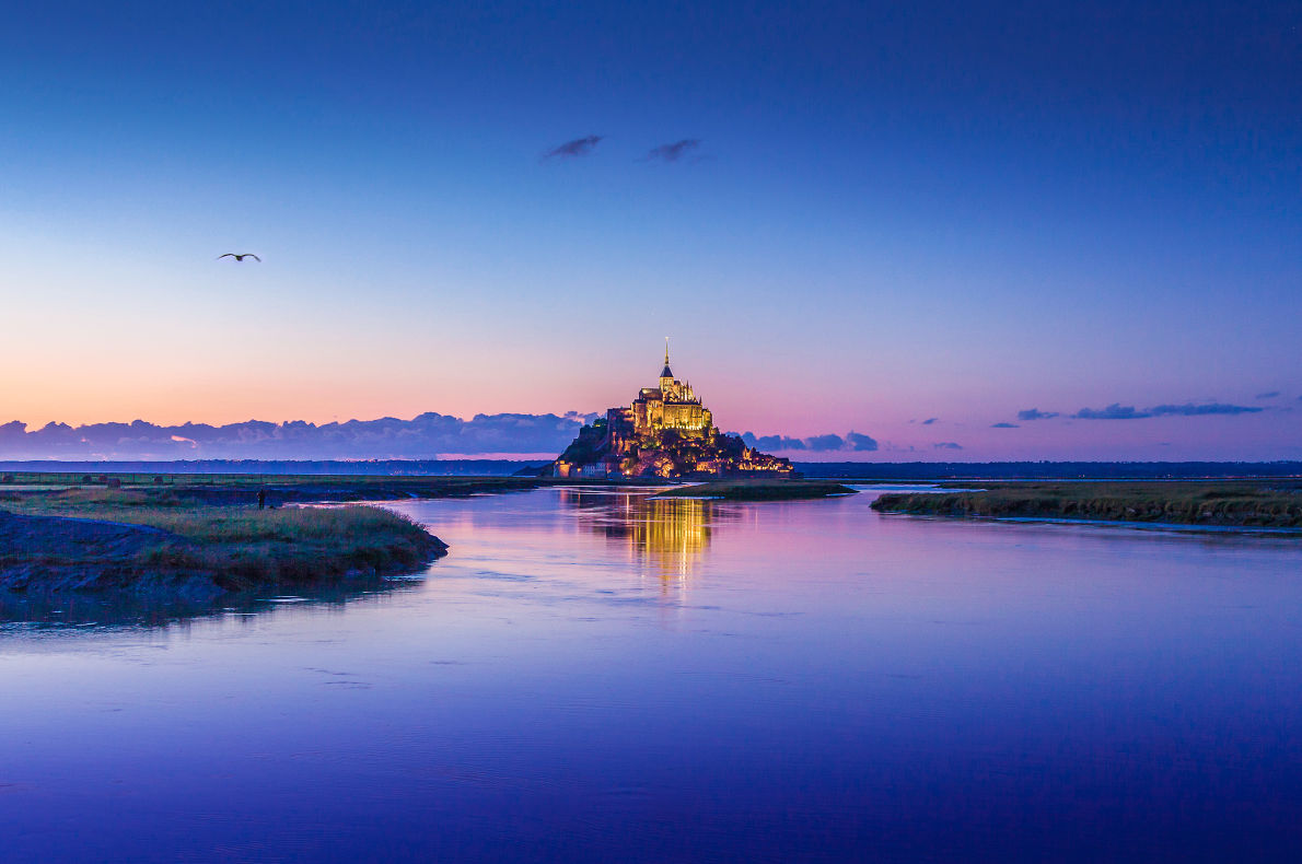 Best places to visit in France - Mount Saint Michel - Copyright  canadastock - European Best Destinations