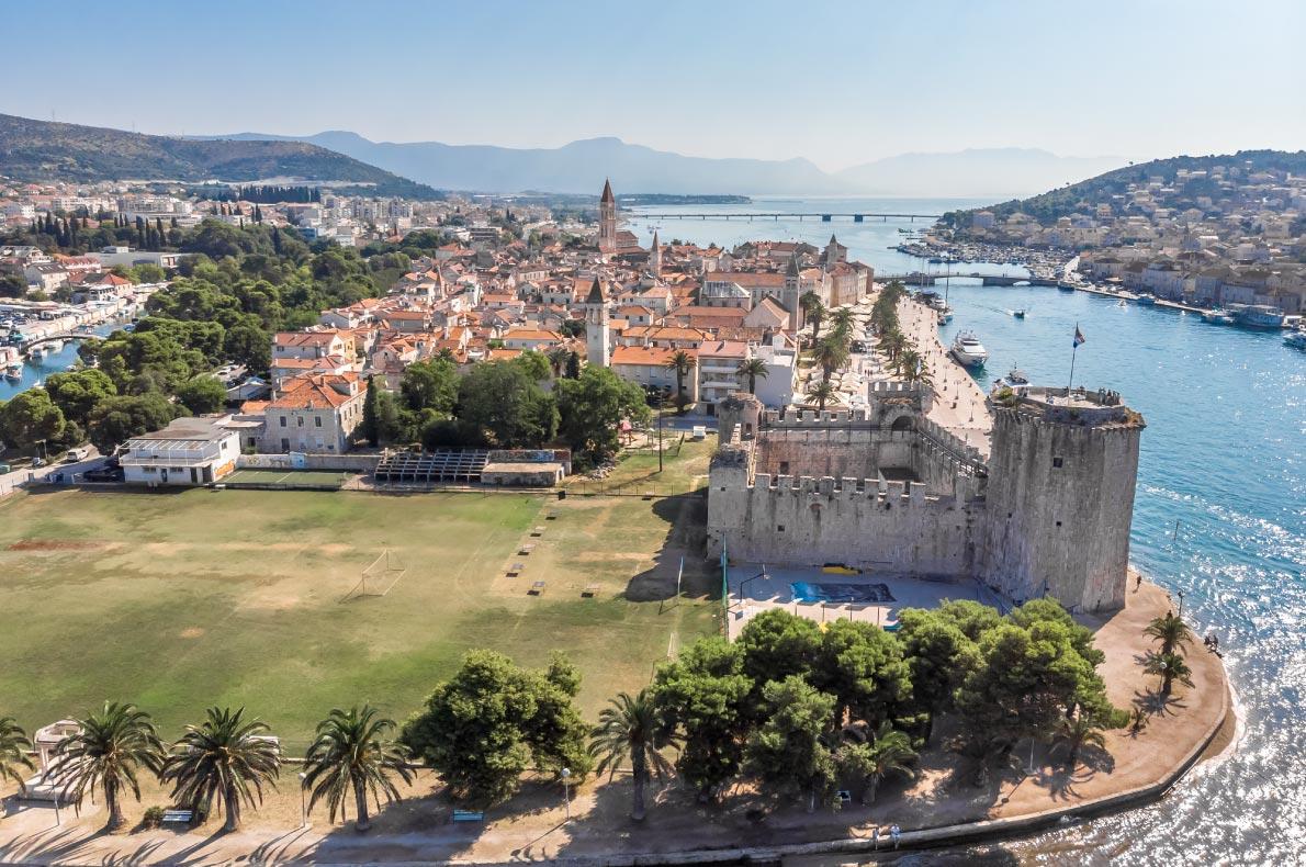 Best Castles in Croatia - Trogir Castle - Copyright Alexey Fedorenko - European Best Destinations