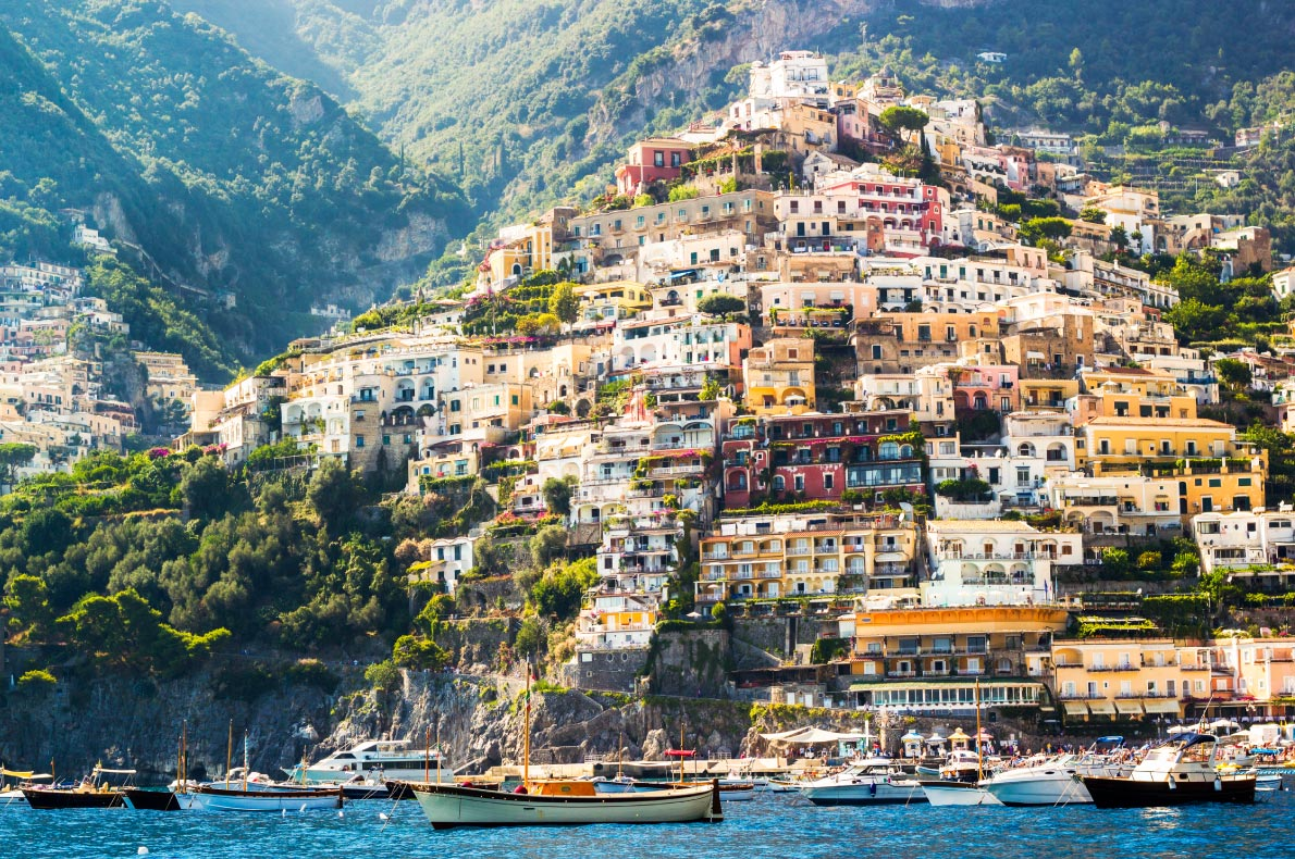 Best hidden gems in Italy - Positano - Copyright ronnybas- European Best Destinations