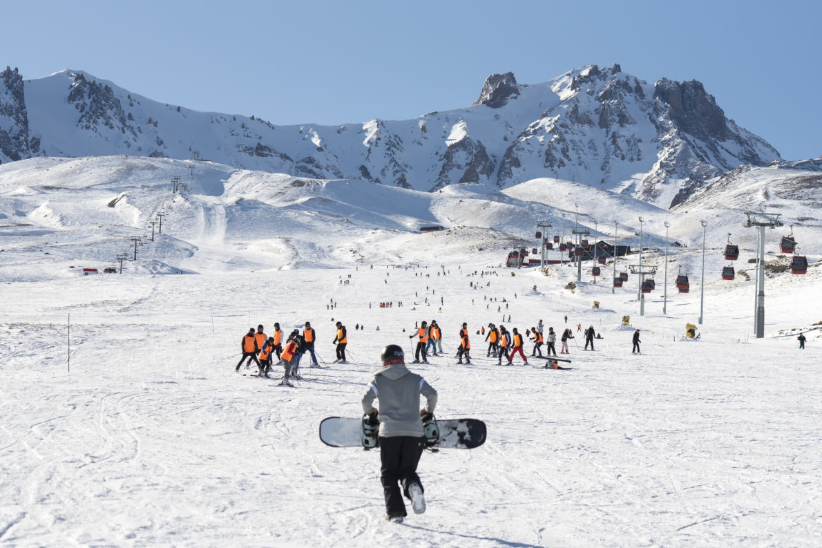 Best ski resorts in Turkey - Kayseri Erciyes - Copyright attraction art  Shutterstock - European Best Destinations