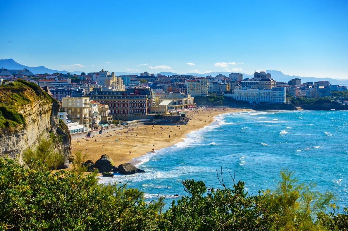 Best beaches in France - Biarritz Grande Plage Copyright  Dutourdumonde Photography  - European Best Destinations