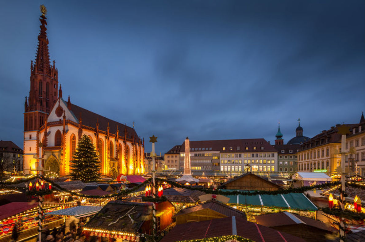 Best Christmas Markets in Germany - Wurzburg Christmas Market - Copyright  Rainer Maiores