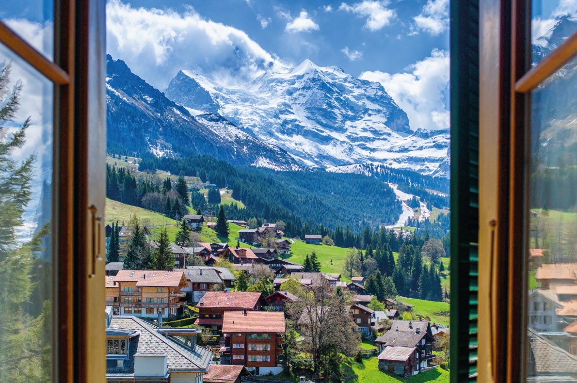 Most beautiful ski villages in Europe - Wengen - Copyright Songtam Srinakarin - European Best Destinations