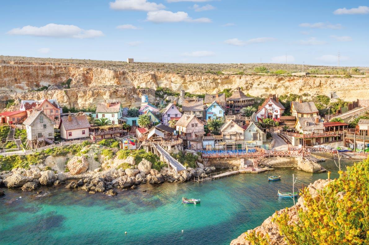 Popeye village in Mellieha - Best Fairytales destinations in Europe - Copyright mRGB - European Best Destinations