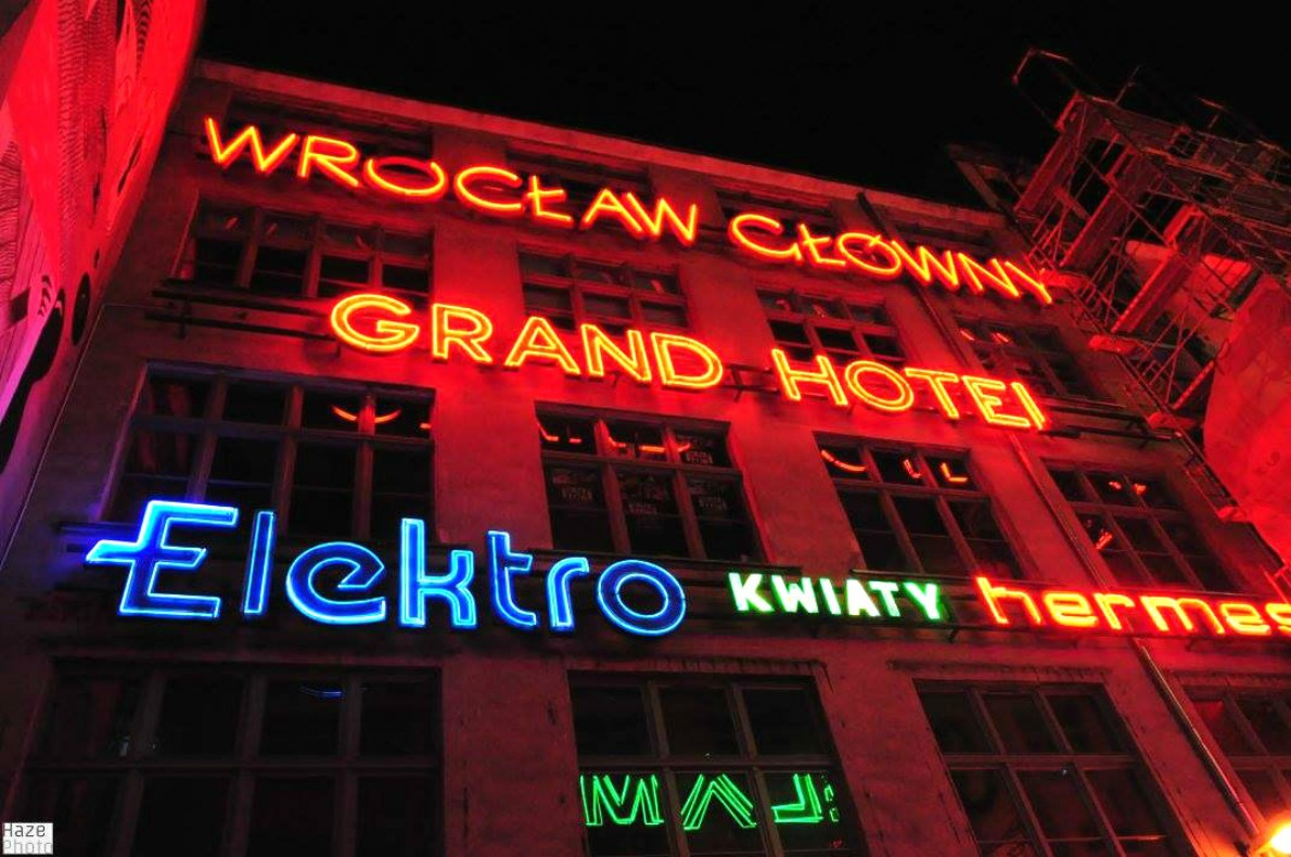 Top things that you will only see in Wroclaw - neon side gallery - Copyright Haze Photos