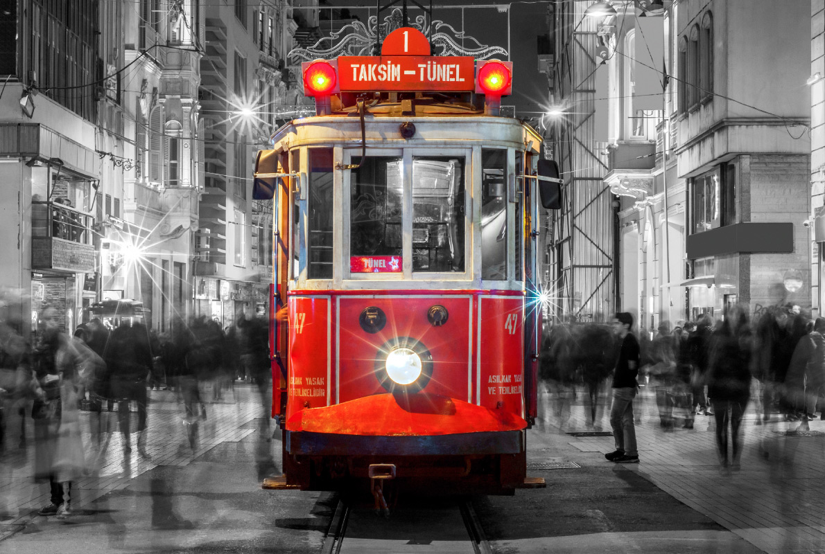 Best trams in Europe - Taksim Istiklal Street Copyright Resul Muslu   - European Best Destinations
