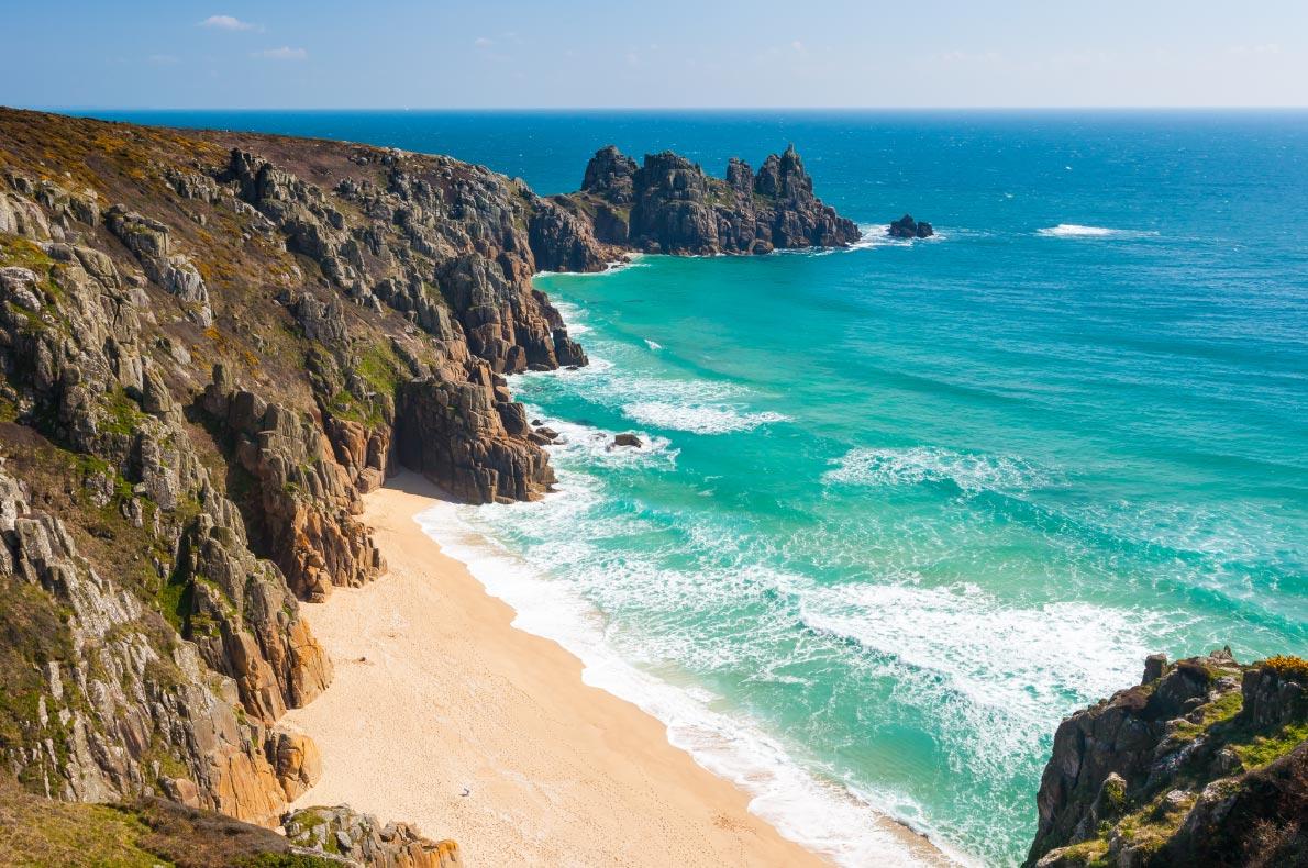 Best beaches in Europe - Pedn Vounder Beach copyright Ian woolcock - European Best Destinations