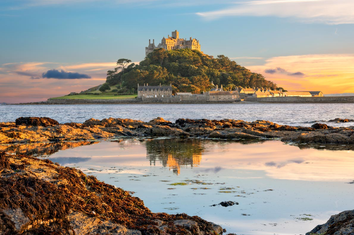 Best hidden gems in England - St Michael's Mount Copyright  Valery Egorov  - European Best Destinations