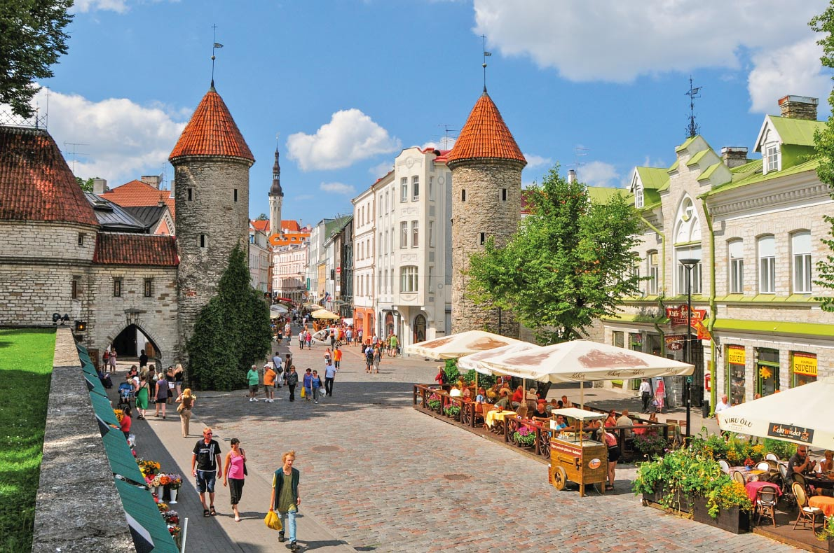 Tallinn- Best medieval destinations in Europe - Copyright Richard Cavalleri Shutterstock.com - European Best Destinations