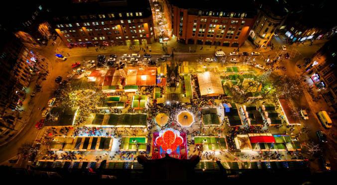 Manchester Christmas Market - Copyright Manchester City Marketing