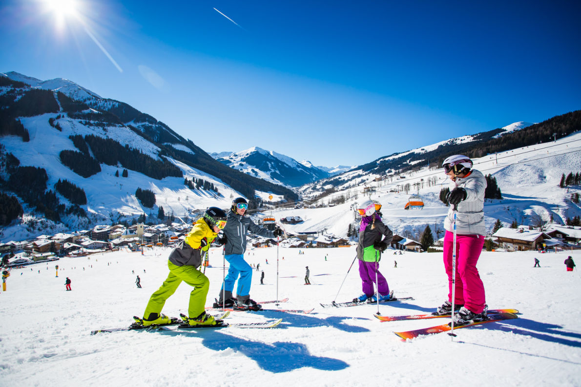 Best ski resorts in Europe - Skicircus Saalbach Hinterglemm Leogang Fieberbrunn - Copyright Bause