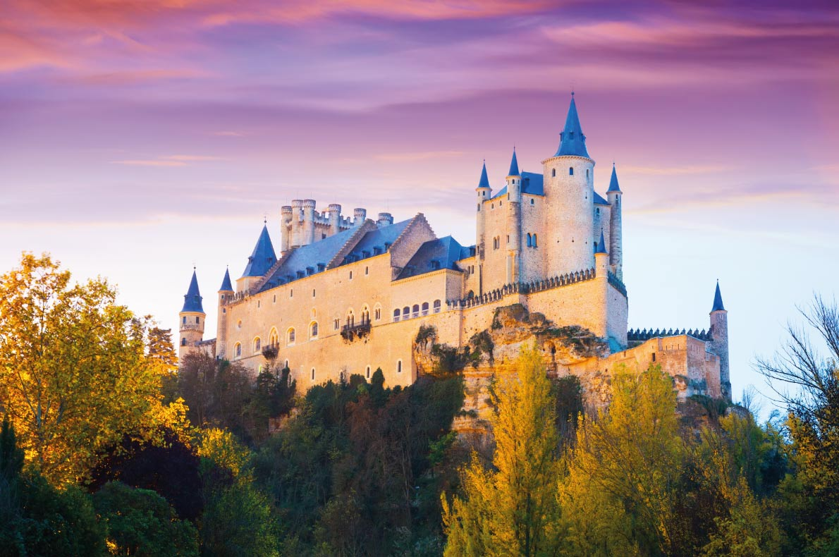 Segovia Castle - Best Fairytales destinations in Europe - Copyright Iakov Filimonov - European Best Destinations