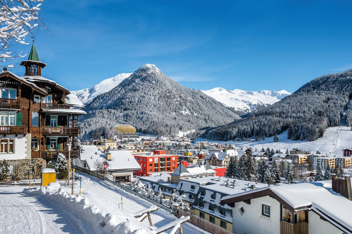 Luxurious Ski Resorts - Davos - Copyright  Boris-B - European Best Destinations
