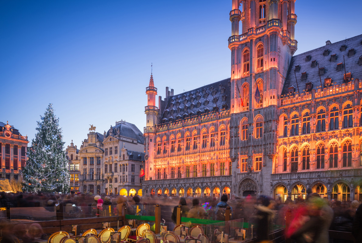 Brussels - Best Christmas Tree in Europe - Copyright ANADMAN BVBA - European Best Destinations