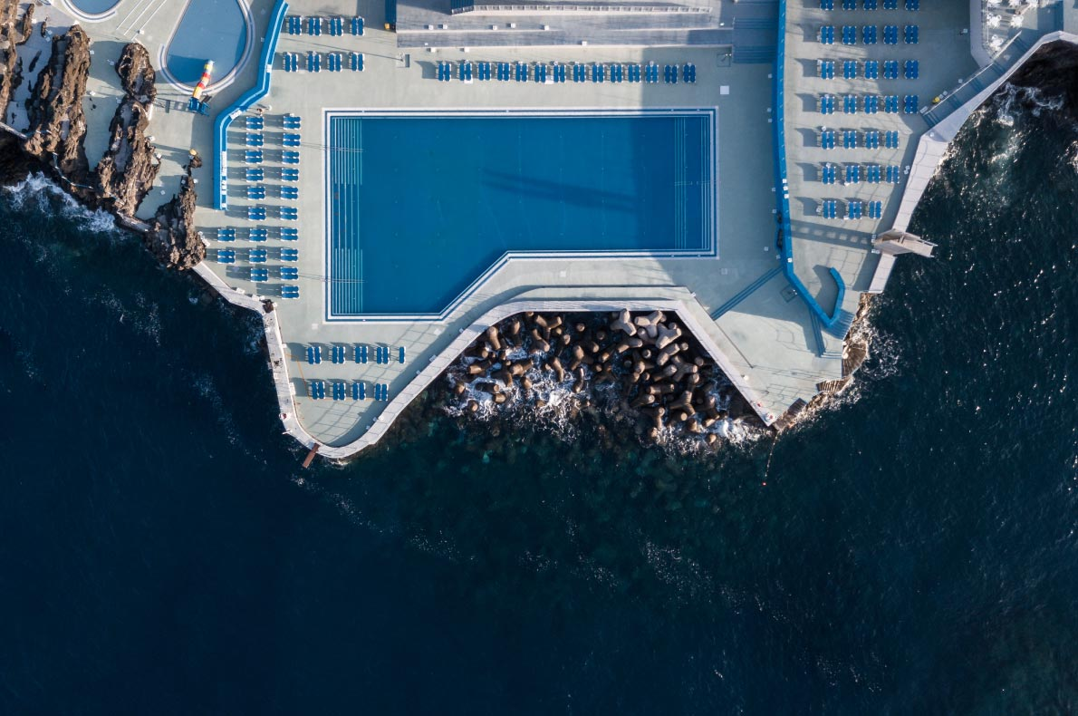 Best pools in Madeira - Lido Pool in Funchal - Copyright Cicero-Castro