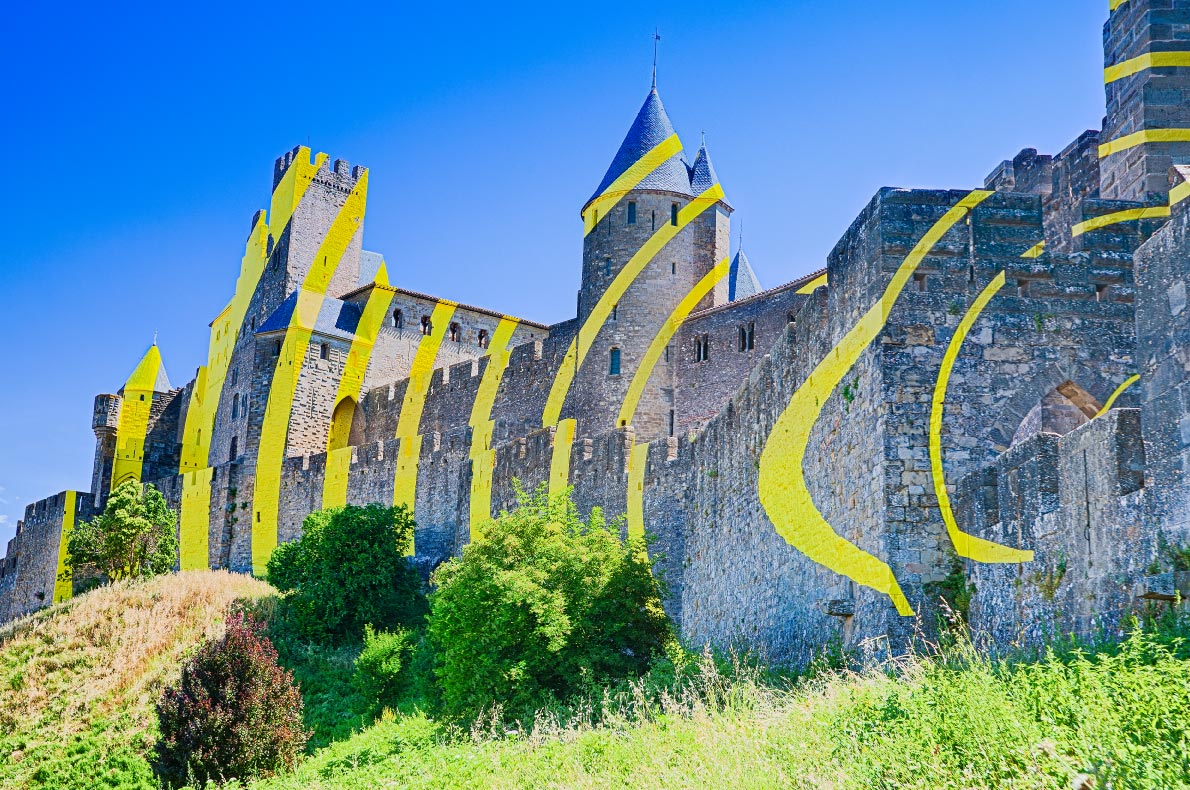 Best Castles in France - Carcassonne fortress copyright  Bborriss.67 - European Best Destinations