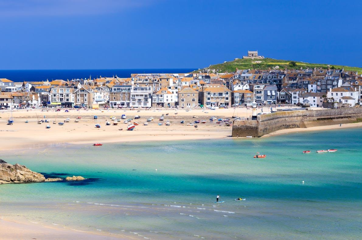 Best beaches in England - Saint Ives Beach copyright  ian woolcock - European Best Destinations
