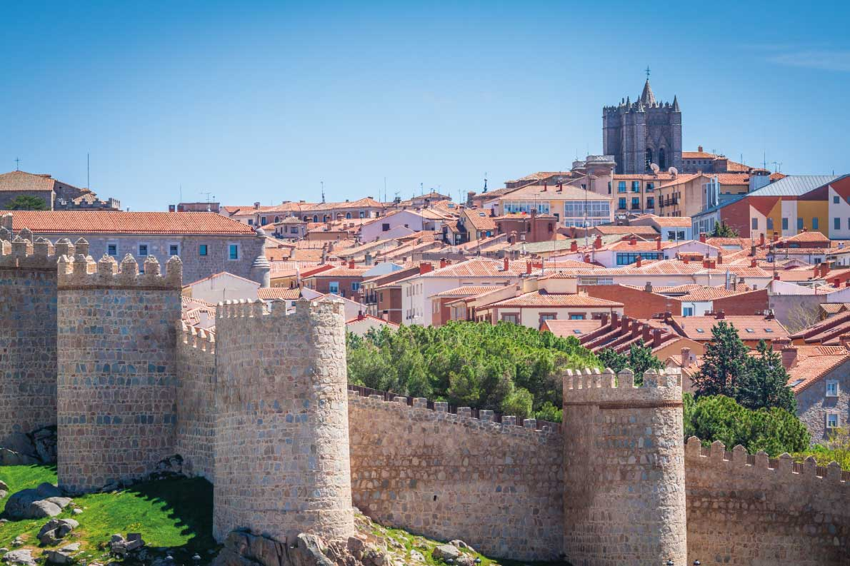 Best fortified destinations in Europe  - Medieval city walls of Avila, Castilla y Leon, Spain Copyright Lukasz Janyst - European Best Destinations