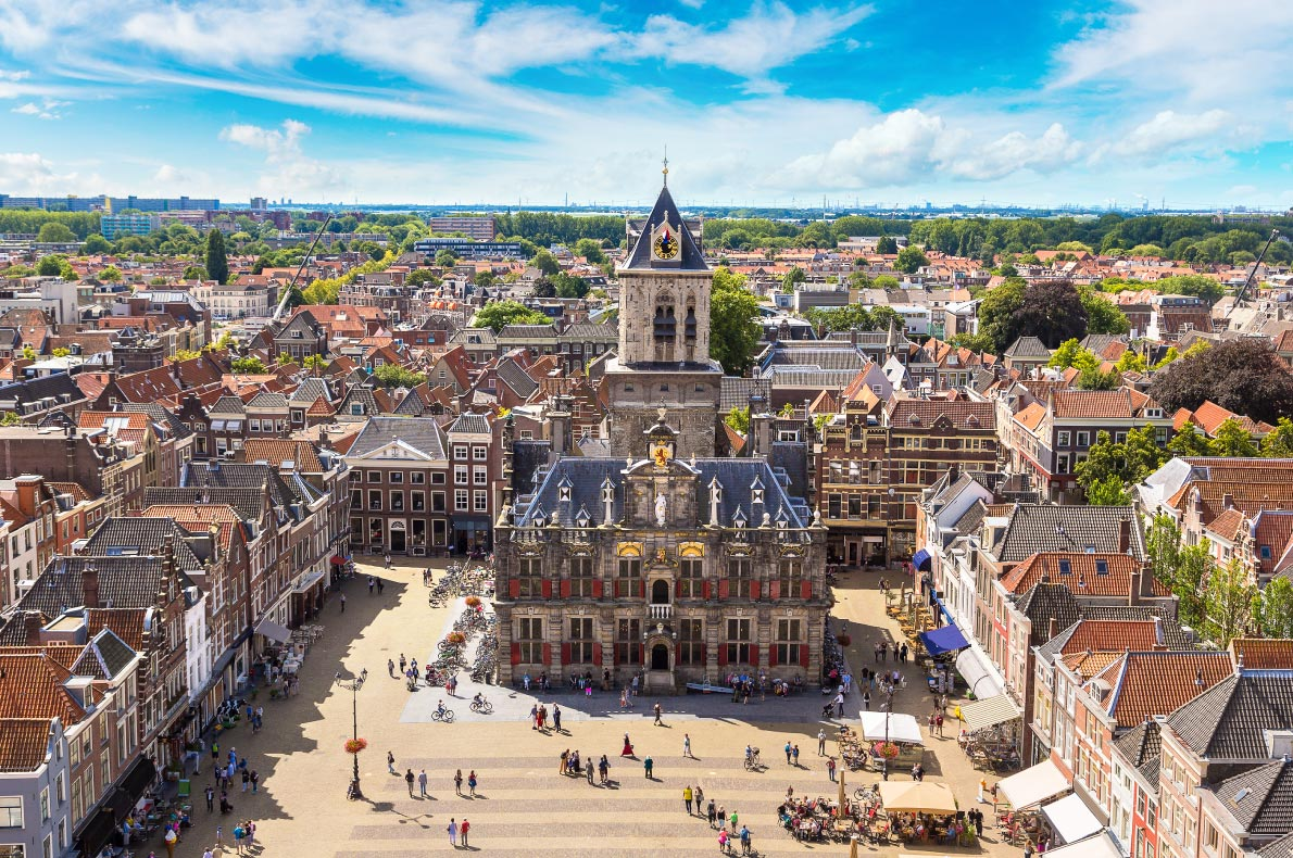 Bestplaces to visit in the Netherlands - Delft - Copyright S-F - European Best Destinations