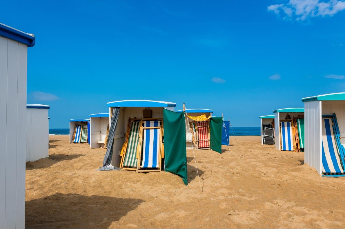 Best beaches in The Netherlands - Katwijk aan zee beach  - Copyright Allard One - European Best Destinations
