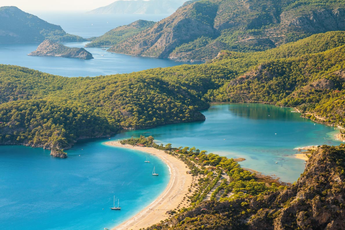 Most beaufitul landscapes in Europe - Oludeniz in Turkey - Copyright Kochneva Tetyana- European Best Destinations