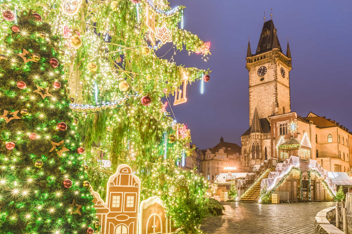 Prague Christmas Lights - Best Christmas Lights in Europe  - Copyright By Balate Dorin  - European Best Destinations