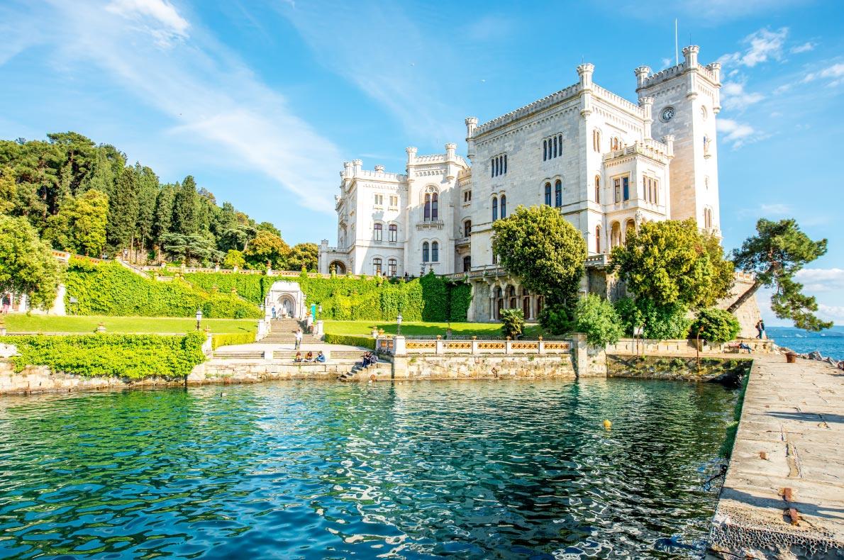 Best castles in Italy - Miramare Castle Copyright  RossHelen - European Best Destinations