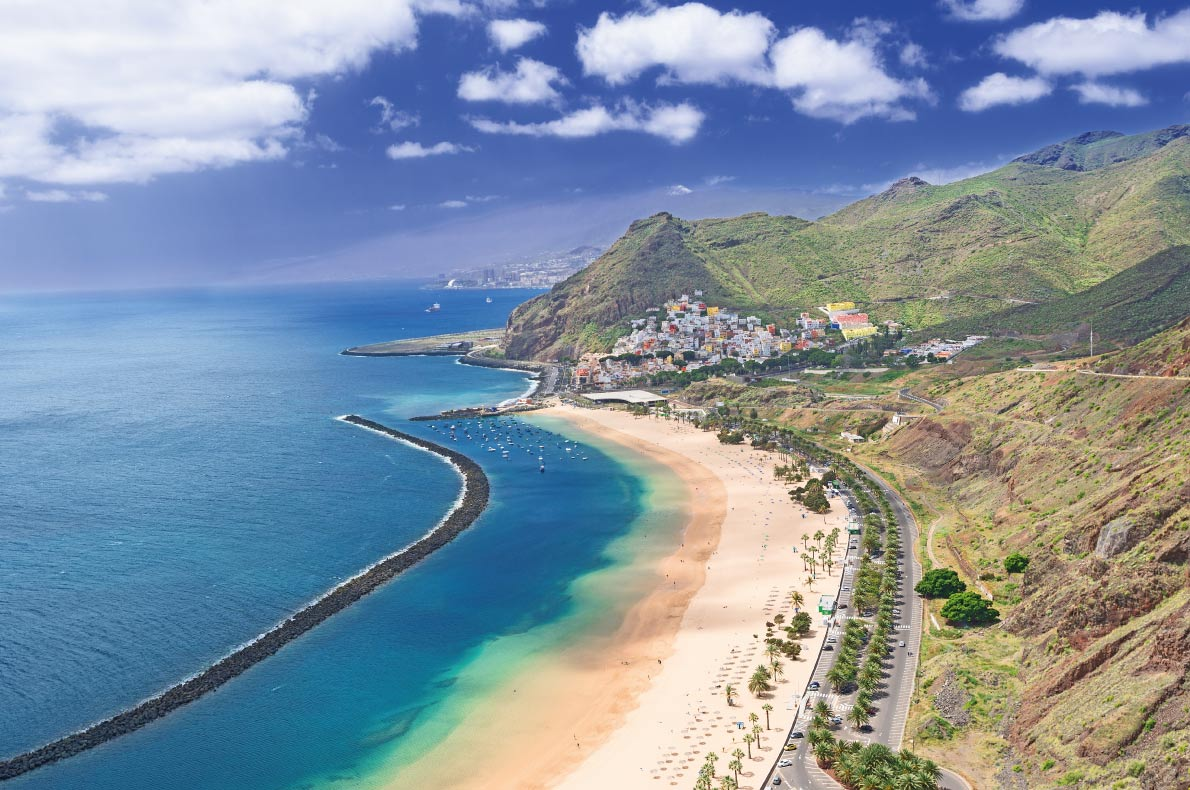 Playa de Las Teresitas - Best beaches in Europe - Copyright Nanisimova