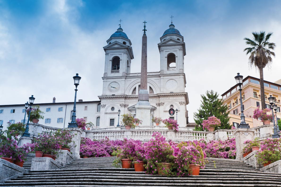 Rome  Spanish Steps - Best destinations for a wedding proposal - Lukasz Szwaj - European Best Destinations