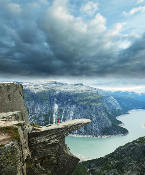 Trolltunga Near Bergen Norway Best Nature Destination
