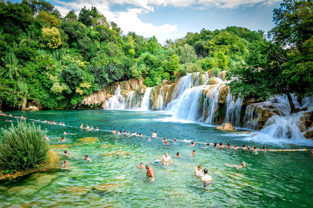 Europe Bucket List - Best things to do in Europe - Krka waterfalls - Copyright Ajan Alen  - European Best Destinations