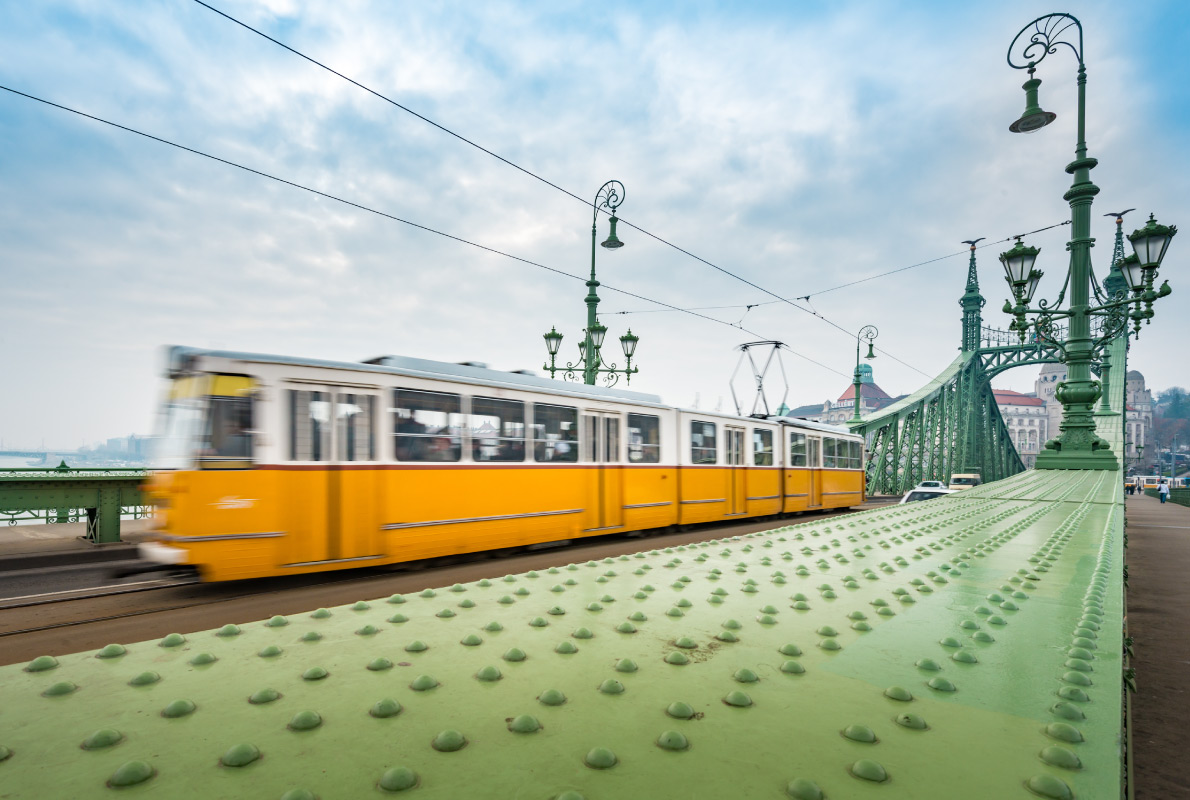 Best trams in Europe - Budapest Tram Copyright Konstantin Yolshin  - European Best Destinations