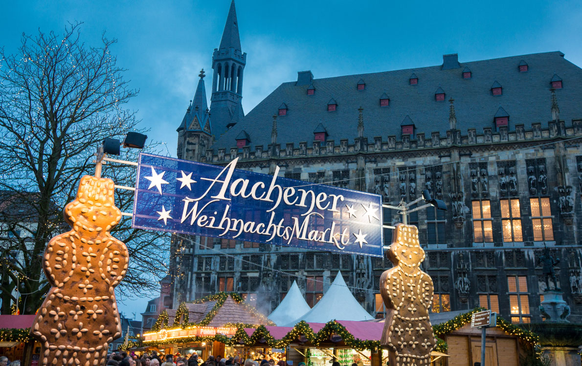 christmas market in aachen germany
