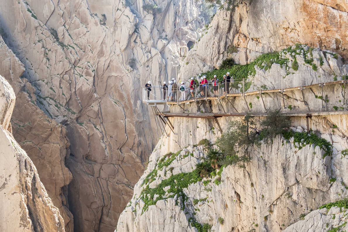 El camino del Rey  - Best trekking destinations in Europe - Copyright Alvaro Trabazo Rivas - European Best Destinations