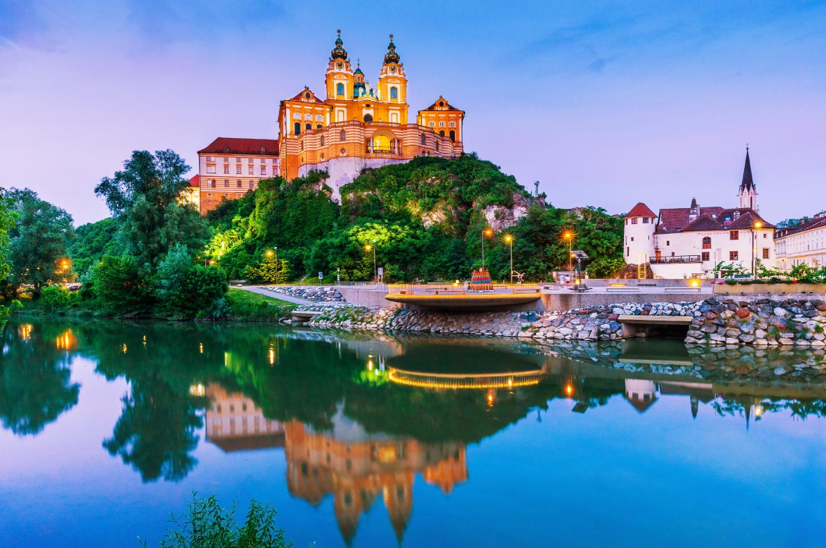 Best places to visit in Austria - Melk  - Copyright emperorcosar -  European Best Destinations